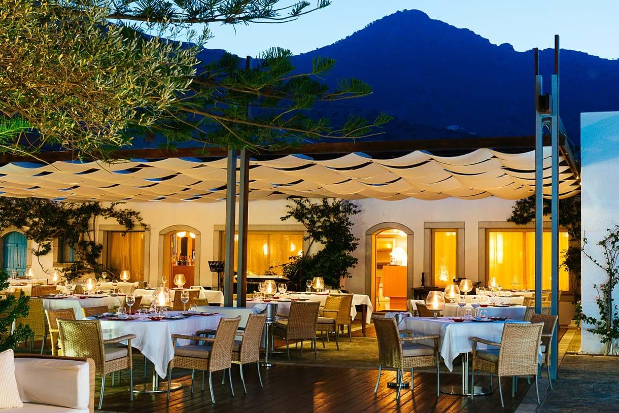 Hotel Restaurants Elounda Crete: mediterranean cuisine, greece
