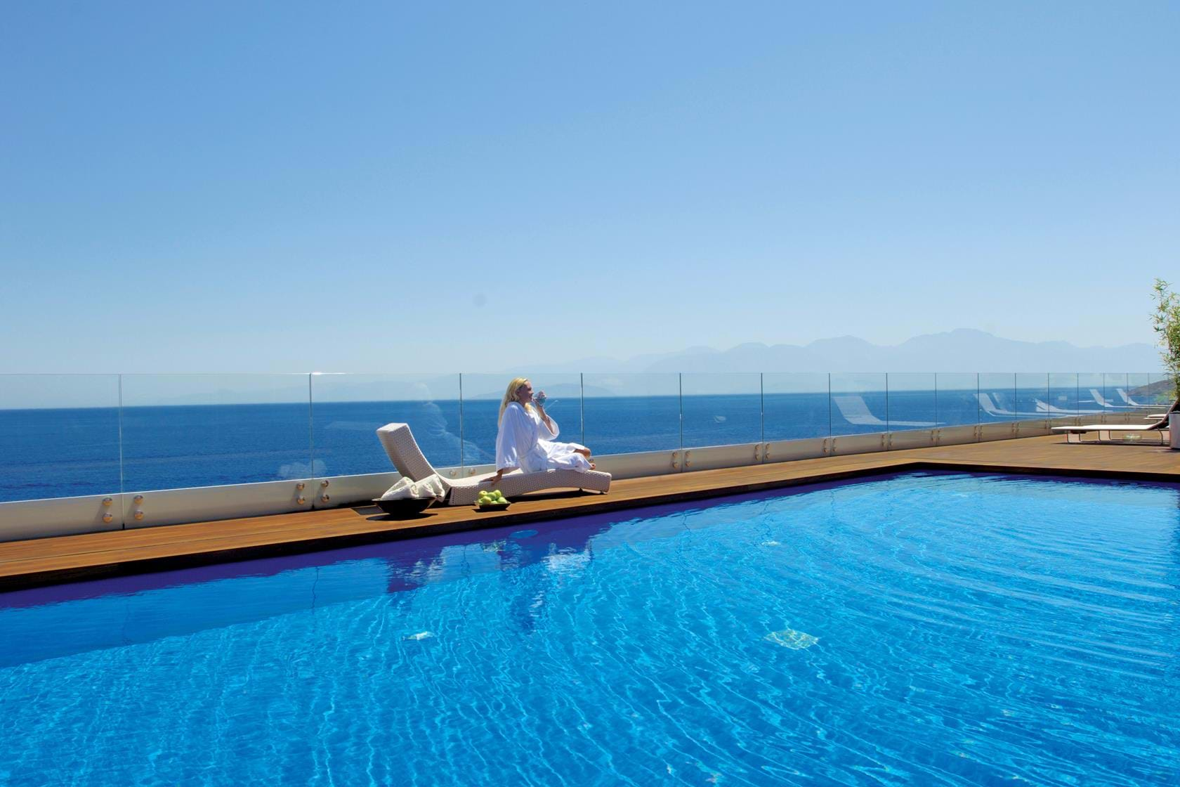 Like No Other Resort On Earth The Endless Blue Of Mediterranean Shimmering Your Crystal Clear Private Pool
