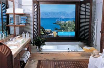 Island Villas Sea View with Private Heated Pool - Bathroom