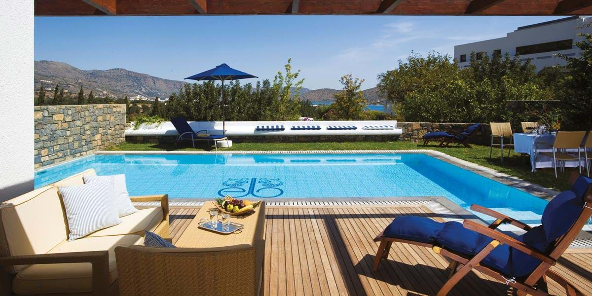 Family Villas Side Sea View with Private Heated Pool