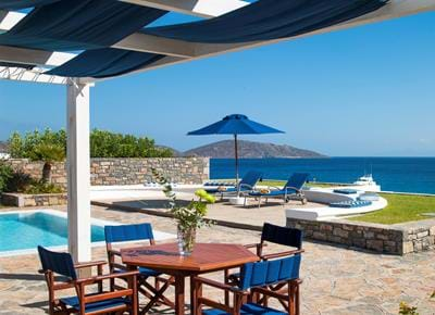 Grand Villas Sea View with Private Heated Pool - Exterior