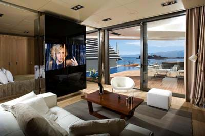 Yachting Villa Waterfront - Living Room