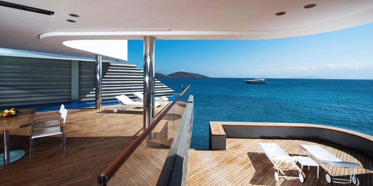 Wellness Yachting Villa Waterfront with Private Heated Pool
