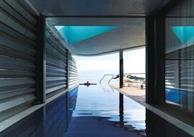 Wellness Yachting Villa Waterfront - Interior Pool