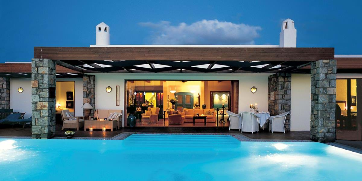 The Royal Villas Sea View with Indoor & Outdoor Heated Pools