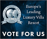 Europe's Leading Luxury Villa Resort 2020